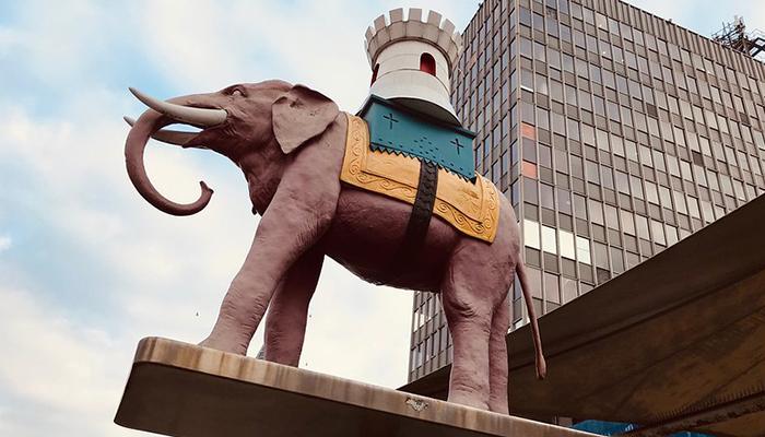Elephant and Castle Area